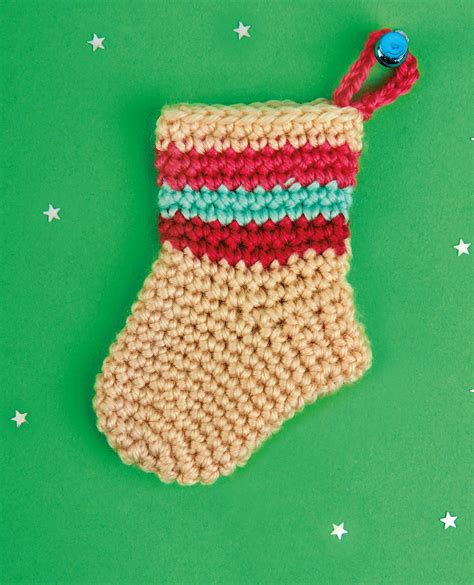 christmas stockings crochet pattern