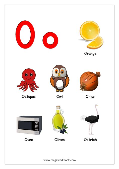 things that start with o preschool free printable worksheets alphabet reading 802