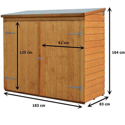 coffre de rangement bois 1 5 m2 jardin piscine