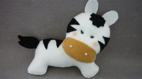 lovely zebra  felt diy crafts tutorial