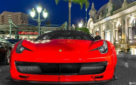 The ferrari 458 italia has garnered over 30 international awards in its career. Ferrari 458 Italia Liberty Walk Widebody - 27 April 2015 - Autogespot