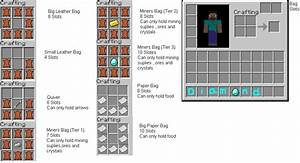 Minecraft Bags Mod and Crafting Ideas Minecraft Blog