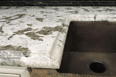 granite edges the finishing touch builders surplus