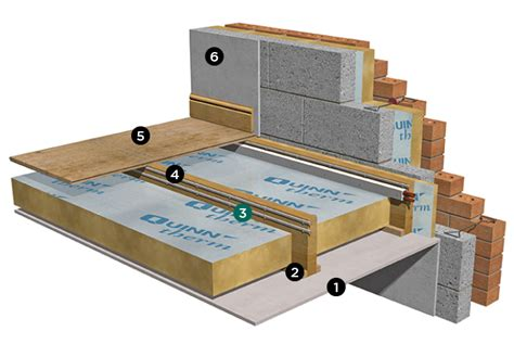 How To Insulate A Concrete Basement Floor by Suspended Timber Floor Other Than Ground Floor Insulated