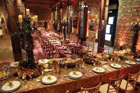 The Garden Halls London by An Ornate Medieval Banquet Table In The White Tower At