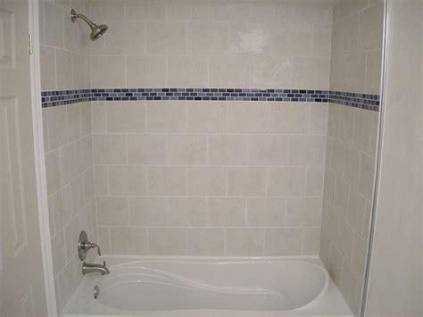tile border around tub surround ceramic tile shower and bathtub surround with glass border detail flickr photo sharing