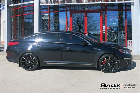 Kia Optima Tire Size by Kia Optima With 20in Lexani Css15 Wheels Exclusively From
