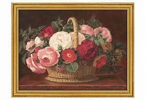 Bilder Mit Rahmen Für Wohnzimmer : home affaire bild kunstdruck mit rahmen rosen im korb ~ Lizthompson.info Haus und Dekorationen
