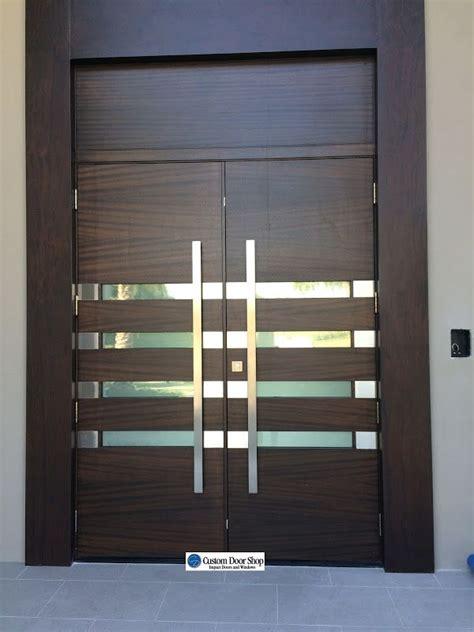 Large Exterior Doors by Ultra Contemporary Front Doors Mahogany Wood Doors