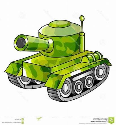 Tank Army Clipart Drawing Cartoon Getdrawings Military