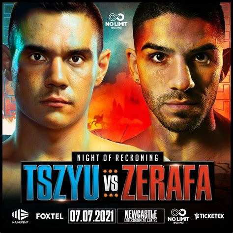 Tim Tszyu vs. Michael Zerafa on July 7th in Australia ⋆ ...