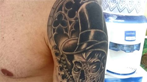 cover  black  gray tattoo youtube