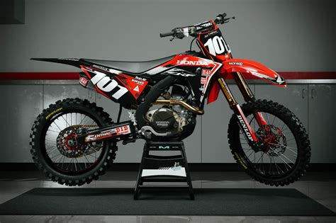 honda crf 2018 honda crf 250 450 graphic kits customize your own