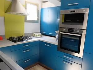 modele cuisine en u modele de lustre pour cuisine de With creer une cuisine dans un petit espace