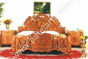 Wooden Bed, Beds, Carved Wooden Beds, Designer Wooden Beds ...