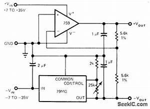 dual tracking power supply circuit circuit diagram With photocellchopper powersupplycircuit circuit diagram seekic