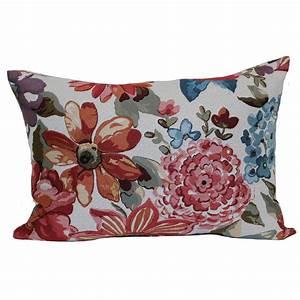 Mainstays, Textured, Oblong, Decorative, Throw, Pillow, Floral, -, Walmart, Com