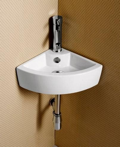 tiny corner bathroom sink elite sinks ec9808 porcelain wall mounted corner sink