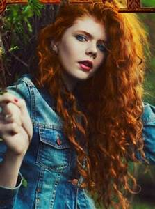 Red curly hair | These Curls Are on Fire! | Pinterest