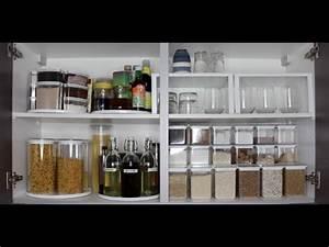 Rangement Cuisine Organisation : comment optimiser l 39 espace de sa cuisine youtube ~ Premium-room.com Idées de Décoration