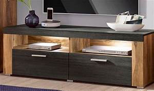 Wandregal Für Fernseher : lowboard breite 140 cm mit wandregal kaufen otto ~ Michelbontemps.com Haus und Dekorationen
