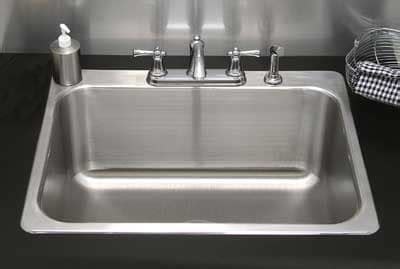 kitchen sink picture advance tabco ls282014re laundry room drop in sink 1 2820