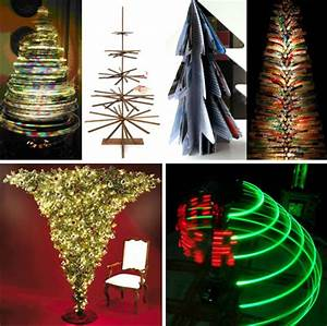 11 Reusable Recyclable & Radical Christmas Trees WebEcoist