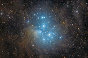 APOD: M45: The Pleiades Star Cluster (2013 Sep 18 ...
