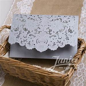 graceful gold laser cut pocket wholesale wedding With wedding invitation pockets wholesale