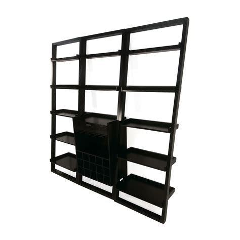 Leaning Bookshelf by 81 Crate And Barrel Crate And Barrel Modular