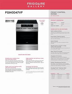Frigidaire Fgih3047vf 30 Inch Front Control Freestanding