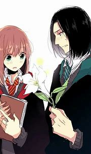 Anime couple, Lilly and Severus. (Harry Potter)   Harry ...