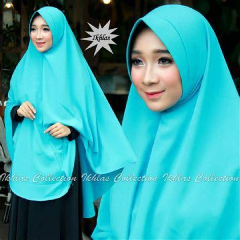jual khimar hijab jilbab instan kerudung syari jumbo