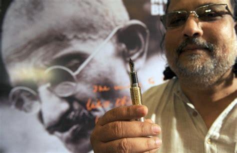 Mont Blanc Gandhi Pen Causes Criticism In India