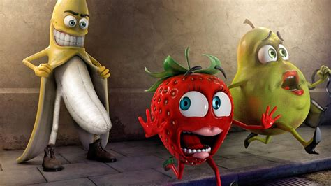 love bananas strawberries wallpaper