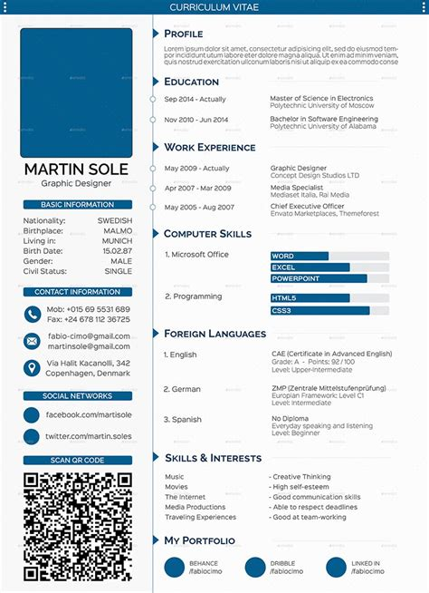 curriculum vitae layout template cv templates 61 free samples examples format download