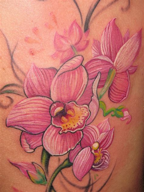 orchid tattoos designs ideas  meaning tattoos