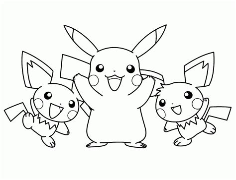 Pikachu Coloring Pages - Eskayalitim