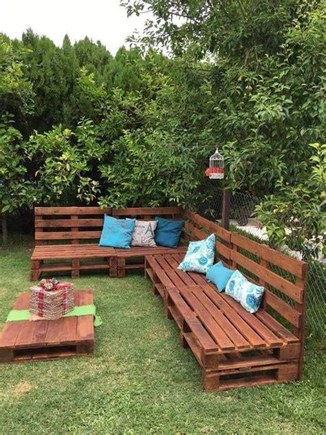 lawn furniture    pallets garden  yard