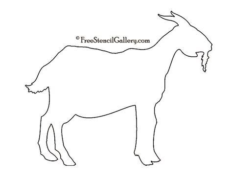Goat Template Printable - Costumepartyrun