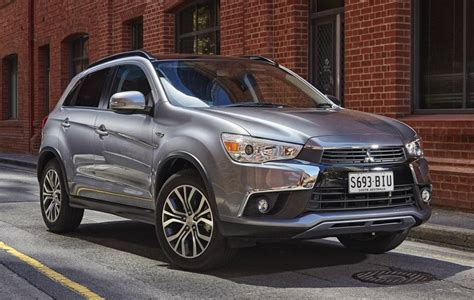 Updated 2017 Mitsubishi Asx Arrives In Australia Behind