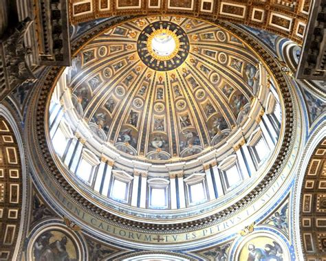 cupola di san pietro michelangelo visitare a roma la cupola della basilica di san pietro