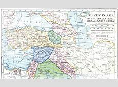 FileMap of Turkey in Asia, Syria, Palestine, Hejaz and