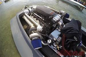 Twin Turbocharged 5 0 Liter Coyote V8 Powered Jet Boat
