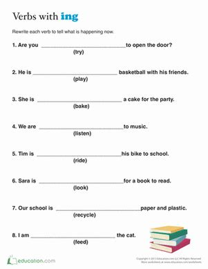word scramble present tense verbs worksheet education