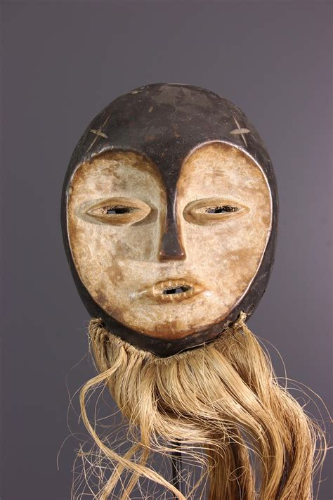 Masque Lega (13943) - Masque africain, art tribal, art ...