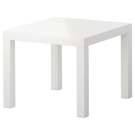 ikea cuisine table lack side table high gloss white 55x55 cm ikea