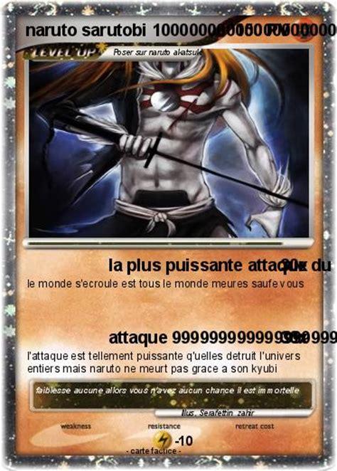 la le la plus puissante du monde pok 233 mon sarutobi 3 3 la plus puissante attaque du monde 99999 100000 ma carte pok 233 mon