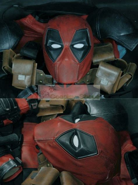 custom cheap superhero deadpool ryan reynolds version cosplay replica costume  deadpool wade