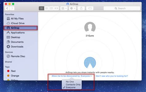 how to turn on airdrop on iphone airdrop easily contents on mac iphone ipod